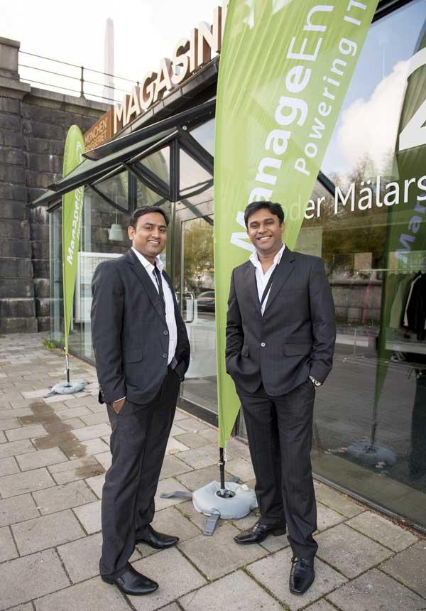 Maljeev Rafi och Arvind Parthiban, ManageEngine.