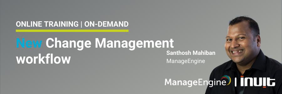 Change Management workflow training LP ONDEMAND
