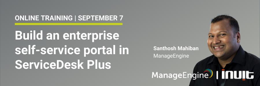 Self-service portal training LP2